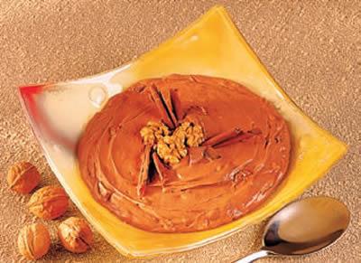 Creme de Chocolate e Nozes